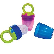 Sassy Teething Feeder - Girl front-1026708