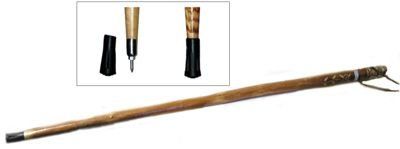 50″ Wooden Walking / Hiking Stick (#WS627-50), Outdoor Stuffs