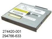 Click to buy Compaq Genuine 24x8x8x24x DVD/CD-RW Combo Multibay Drive Evo N610c N410c Notebooks etc - Refurbished - 294766-633 - From only $39