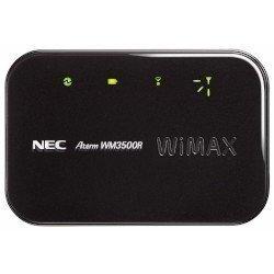 【Amazonの商品情報へ】日本電気 モバイルWiMAXルータ AtermWM3500R プラチナブラック PA-WM3500R(AT)B