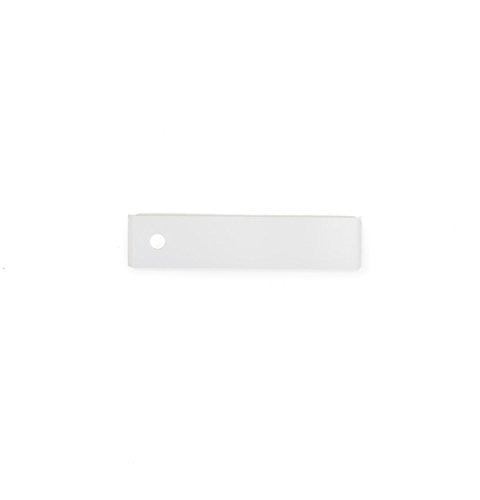General Electric We1M504 Dryer Bearing Drum Slide, White