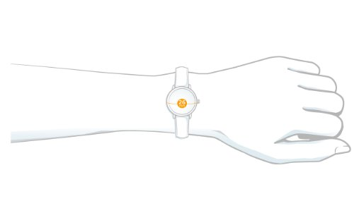 Skagen Ladies Watch 648SSLWW with White Leather Strap and White Dial