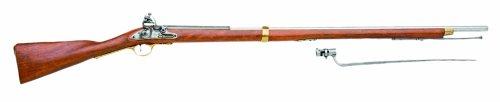 Denix British Brown Bess Flintlock Musket American Revolutionary War Era Rifle