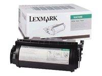 Lexmark - Toner cartridge for label applications - High Yield - 1 x black - 21000 pages - LRP - HI YIELD PREBATE TONER CART LBL APP T63X