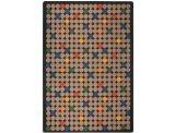 "Joy Carpets Playful Patterns Children's Spot On Area Rug, Antique, 3'10"" x 5'4"""