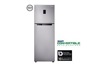 Samsung RT33JSRYESA/TL Frost-free Double-door Refrigerator (321 Ltrs, 4 Star Rating, Metal Graphite )