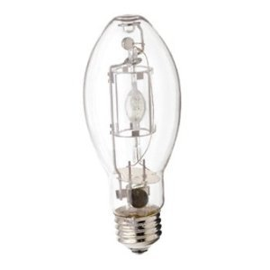 MH50/U/MED 50-Watt Metal Halide ED17 Bulb, Medium Base, Clear