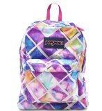 JanSport Superbreak Backpack, Multi Glow Box
