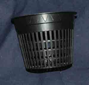 Round Net Pots 3.75 inch, Heavy Duty - 6 Pack