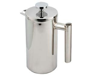 Cuisinox COF-11 Double Walled Coffee Press, 1-Litre, Stainless Steel