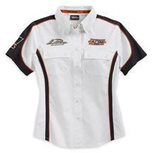 Harley Davidson Womens Chassis Mechanic's Shirt, Black or White, 100% Cotton Twill, colorblock design, button chest pockets, embroidered Screamin' Eagle and Harley graphics, Women's Black 98291-07VW, White 98292-07VW - Buy Harley Davidson Womens Chassis Mechanic's Shirt, Black or White, 100% Cotton Twill, colorblock design, button chest pockets, embroidered Screamin' Eagle and Harley graphics, Women's Black 98291-07VW, White 98292-07VW - Purchase Harley Davidson Womens Chassis Mechanic's Shirt, Black or White, 100% Cotton Twill, colorblock design, button chest pockets, embroidered Screamin' Eagle and Harley graphics, Women's Black 98291-07VW, White 98292-07VW (Harley Davidson Womens Shirts, Harley Davidson Womens Shirts Shirts, Harley Davidson Womens Shirts Womens Shirts, Apparel, Departments, Women, Shirts)