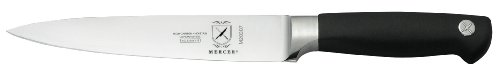 "Mercer Culinary Genesis 7"" Forged Flexible Fillet Knife, Steel/Black"