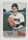 1984 Cramer Pacific Coast League #9 Jim Farr NM/M (Near Mint/Mint)