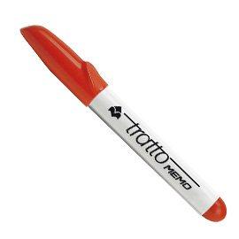 tratto-memo-854002-chiusura-con-cappuccio-colore-rosso-12-pezzi