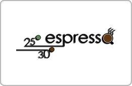 25 30 Espresso Gift Card ($10)