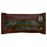 SunSpire Chocolate Chips, Organic, Semi-Sweet, 9 oz, (pack of 3)