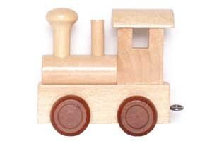 Alphabet Train Locomotive (each)