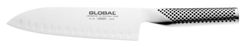 Global G-48 18cm Fluted Santoku Slicer