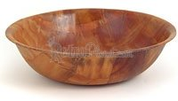 Tablecraft Wood Bowl, 10-Inch