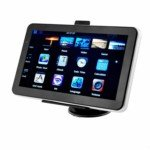 7.0-inch Touch Screen Windows CE.NET5.0 4GB GPS Navigator with FM Transmitter and Portugal Map