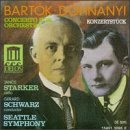 Dohnanyi: Konzertstuck/Bartok: Concerto for Orchestra