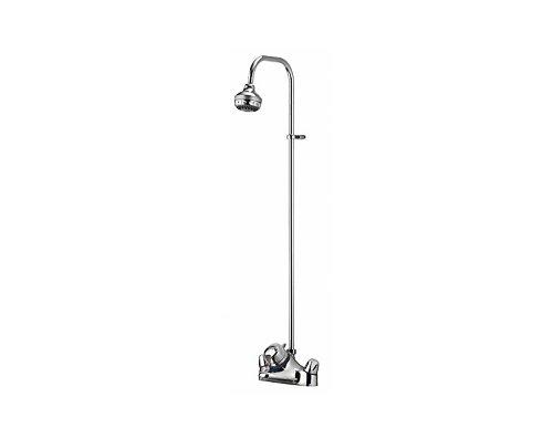 Aquamixa Thermo Exposed Fixed Riser Bath/Shower Kit Gravity/Mains