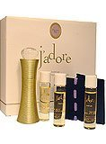 Christian Dior discount duty free Christian Dior J'adore Refills Parfum Spray and Refills Set: 4 X 0.25 Oz (7.5 Ml)