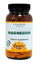 Country Life - Chelated Magnesium 250 mg.