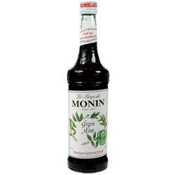 MONIN MINT GREEN, CS 12/750ML, 01-0028 MONIN INC MONIN SYRUPS