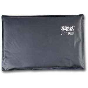 "Review Cold Pack - ColPaC Brand - Black Polyurethane - Oversize - 12.5"" x 18.5"""