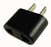 BoxWave European to American Outlet Plug Adapter