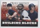 Austin Aune, Nathan Mikolas, Peter O'Brien Nathan Minnich, New York Yankees (Baseball Card) 2012 Elite Extra Edition Building Blocks Trio #9