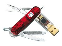 Victorinox Swiss Army Knife Secure 8GB USB Fingerprint