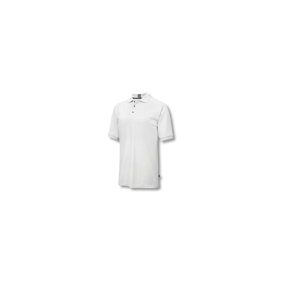 Adidas 2007 Mens ClimaLite Stretch Pique Polo Shirt   White / Black   774733