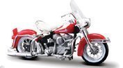 Harley Davidson 1962 FLH Duo Glide Motorcycle Model