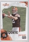 Colt McCoy RC - Cleveland Browns (RC - Rookie Card) 2010 Score Football Card - NFL Trading Card in Screwdown Case