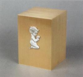 Innocence I Kneeling Boy Infant Cremation Urn