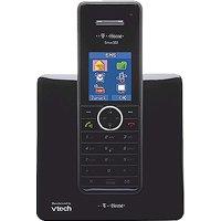Deutsche Telekom T-Home Telefon Sinus 502 Schnurlostelefon silber/schwarz