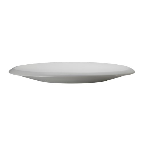 Decolav 1481-CWH Classically Redefined Elliptical Shape Above Counter Lavatory Sink, White