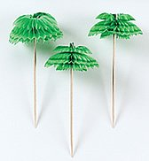 Palm Tree Cocktail Picks (12 pack) 401200