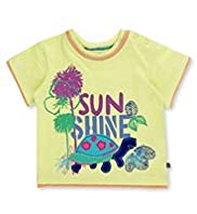 Pure Cotton Short Sleeve Sunshine T-Shirt
