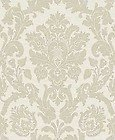 IDECO KENSINGTON CREAM DAMASK WALLPAPER V41604