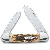 Case Xx Canoe Knife Bone Handled 3-5/8 In. Closed