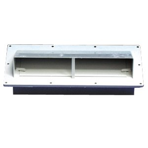 Ventline v2111 11 colonial white horizontal - Exterior wall vent for rv range hood ...