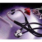 Image of PT# 600BK ADSCOPE Platinum Stethoscope Black by American Diagnostic Corp (B006ZMC44C)