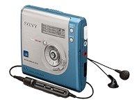 Sony MZ-NH700/LM Blue Hi-MiniDisc Walkman