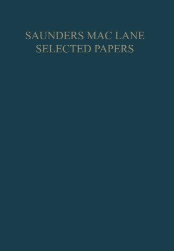 Saunders Mac Lane Selected Papers