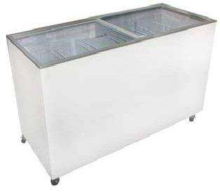 Excellence Euro-16 Sliding Flat Lid Display Freezer 15.5 Cu Ft front-302392