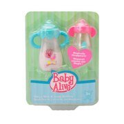 Baby Alive Magic Milk and Juice Bottles