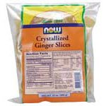 Ginger Slices No Sulfur Now Foods 12 oz Bag